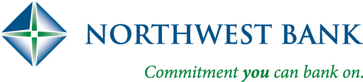 "Northwest Bank Logo that reads, ""Commitment you can bank on."""