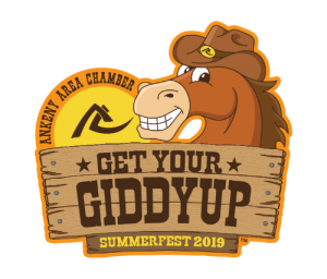 "The SummerFest 2019 logo, ""Get Your Giddyup"""