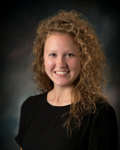 Headshot of Ali Krogman, the Ankeny Area Chamber of Commerce Communications Director