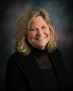 Headshot of Kris Oakie, the Membership Director at the Ankeny Chamber.