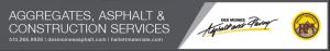 Ad for Des Moines Asphalt and Paving